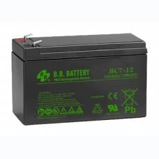 Аккумуляторная батарея B.B. BATTERY BС 7-12 FR, B.B. BATTERY BС 7-12 FR, Аккумуляторная батарея B.B. BATTERY BС 7-12 FR фото, продажа в Украине