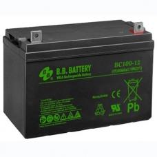 Аккумуляторная батарея B.B. BATTERY BС 100-12 FR, B.B. BATTERY BС 100-12 FR, Аккумуляторная батарея B.B. BATTERY BС 100-12 FR фото, продажа в Украине
