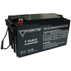 Аккумуляторная батарея  FORTE F12-65G, FORTE F12-65G, Аккумуляторная батарея  FORTE F12-65G фото, продажа в Украине