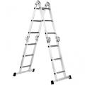 Шарнирная лестница FORTE FE 4x3 + помост, FORTE FE 4x3 + помост, Шарнирная лестница FORTE FE 4x3 + помост фото, продажа в Украине