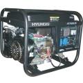Бензиновый генератор HYUNDAI HY 7000LER купить, фото