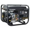 Бензиновый генератор HYUNDAI HY 7000LE купить, фото