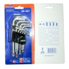 Набор торцевых шестигранных ключей MIOL 56-396, MIOL 56-396, Набор торцевых шестигранных ключей MIOL 56-396 фото, продажа в Украине