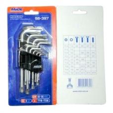 Набор торцевых ключей MIOL 56-398, MIOL 56-398, Набор торцевых ключей MIOL 56-398 фото, продажа в Украине