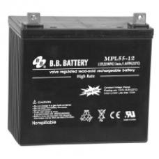 Аккумуляторные батареи B.B. Battery MPL55-12/B5, B.B. BATTERY MPL55-12/B5, Аккумуляторные батареи B.B. Battery MPL55-12/B5 фото, продажа в Украине