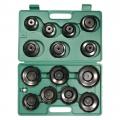 Набор съемников масляных фильтров SCT 15PC CUP-TYPE OIL FILTER купить, фото