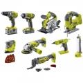 Ryobi R18CK9-252S 5133003576 (Набор инструмента Ryobi R18CK9-252S 5133003576)