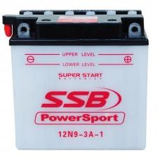 Аккумуляторная батарея SSB 12N9-3А (9 Ач, 136х75,7х133 мм), SSB 12N9-3А, Аккумуляторная батарея SSB 12N9-3А (9 Ач, 136х75,7х133 мм) фото, продажа в Украине