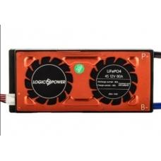 BMS плата LiFePO4 LogicPower 12V 4S 80A симметрия, LogicPower 12V 4S 80A симметрия, BMS плата LiFePO4 LogicPower 12V 4S 80A симметрия фото, продажа в Украине