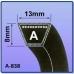 Ремень клиновой тип А (13х765), Ремень клиновой тип А (13х765), Ремень клиновой тип А (13х765) фото, продажа в Украине