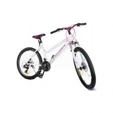 """Велосипед Crosser Infinity 24"""" горный, SHIMANO (рама 15, алюминий, белый, красный, серый), Crosser Infinity 24"""" , Велосипед Crosser Infinity 24"""" горный, SHIMANO (рама 15, алюминий, белый, красный, серый) фото, продажа в Украине"""