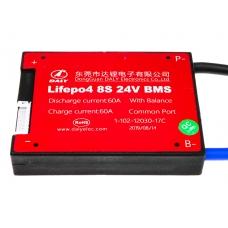 BMS плата LiFePO4 LogicPower 24V 8S 60A, LogicPower 24V 8S 60A, BMS плата LiFePO4 LogicPower 24V 8S 60A фото, продажа в Украине
