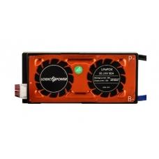 BMS плата LiFePO4 LogicPower 24V 8S 80A симметрия, LogicPower 24V 8S 80A симметрия, BMS плата LiFePO4 LogicPower 24V 8S 80A симметрия фото, продажа в Украине