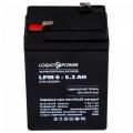 Аккумулятор LogicPower LPM 6-5.2 AH, LogicPower LPM 6-5.2 AH, Аккумулятор LogicPower LPM 6-5.2 AH фото, продажа в Украине