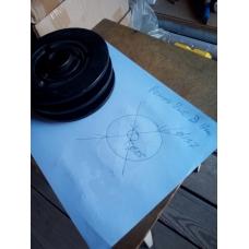 Муфта сцепления центробежная 25/137-2В (2 ремня), Муфта сцепления центробежная 25/137-2В, Муфта сцепления центробежная 25/137-2В (2 ремня) фото, продажа в Украине