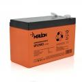 MERLION AGM GP1290F2 PREMIUM 12V 9Ah (Акумуляторна батарея MERLION AGM GP1290F2 PREMIUM 12V 9Ah (150x65x95 (100)) Orange Q10)