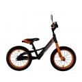 """CROSSER Balance bike Air 16"""", 14"""" (Велобег (беговел) CROSSER Balance bike Air 16"""", 14""""  дюймів рожевий, помаранчевий, сірий)"""