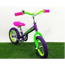 """Велобег (Беговел) CROSSER Balance bike NEW 12"""", 14"""" дюймов фиолетовый, CROSSER Balance bike NEW 12, Велобег (Беговел) CROSSER Balance bike NEW 12"""", 14"""" дюймов фиолетовый фото, продажа в Украине"""