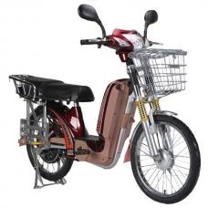 Электровелосипед аккумуляторный Benlin BLW-GG-48 (48В 500Вт, красный, сплошное сидение), Benlin BLW-GG-48, Электровелосипед аккумуляторный Benlin BLW-GG-48 (48В 500Вт, красный, сплошное сидение) фото, продажа в Украине