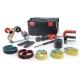 Сатинировальная и ленточная машина Flex BSE 14-3 INOX Set, Flex BSE 14-3 INOX Set, Сатинировальная и ленточная машина Flex BSE 14-3 INOX Set фото, продажа в Украине