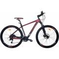 """Crosser GENESIS 29""""  (Велосипед Crosser GENESIS 29"""" горный, SHIMANO (рама 19, карбон, красный))"""