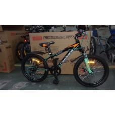 """Подростковый велосипед Crosser Boy XC-200 24"""" черно-зеленый, Crosser Boy XC-200 24"""", Подростковый велосипед Crosser Boy XC-200 24"""" черно-зеленый фото, продажа в Украине"""