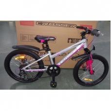 "Велосипед Crosser Girl XC-100 26"" (черно-розовый), Crosser Girl XC-100 26"" , Велосипед Crosser Girl XC-100 26"" (черно-розовый) фото, продажа в Украине"