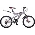 """Велосипед Crosser Smart-1 20"""" горный, SHIMANO (серый, черный), Crosser Smart-1 20"""", Велосипед Crosser Smart-1 20"""" горный, SHIMANO (серый, черный) фото, продажа в Украине"""