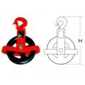 Блок однороликовый открытый типа DSB 0,5 тн. с крюком, DSB 0,5 тн. с крюком, Блок однороликовый открытый типа DSB 0,5 тн. с крюком фото, продажа в Украине