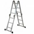Алюминиевая универсальная лестница Elkor M 4x4/без платформы, Elkor M 4x4/без платформы, Алюминиевая универсальная лестница Elkor M 4x4/без платформы фото, продажа в Украине