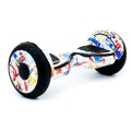 "Hoverboard Белый Граффити 10,5"" (Гироборд Hoverboard Белый Граффити 10,5"")"