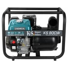 Мотопомпа Könner&Söhnen KS 80CW (26м, 1000 л/мин), Könner&Söhnen KS 80CW, Мотопомпа Könner&Söhnen KS 80CW (26м, 1000 л/мин) фото, продажа в Украине