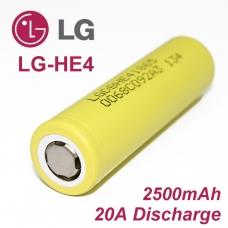 Аккумулятор 18650 Li-Ion Original LGDBHE41865, 2500mAh, 20A, 4.2/3.6/2.5V, желтые, LGDBHE41865, Аккумулятор 18650 Li-Ion Original LGDBHE41865, 2500mAh, 20A, 4.2/3.6/2.5V, желтые фото, продажа в Украине