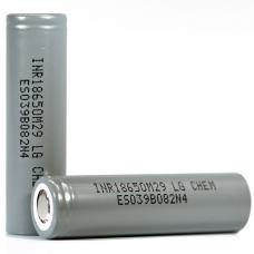Аккумулятор 18650 Li-Ion LG INR18650M29 (LG M29), 2850mAh, 6A, 4.2/3.67/2.5V, серые, LG INR18650M29 (LG M29), Аккумулятор 18650 Li-Ion LG INR18650M29 (LG M29), 2850mAh, 6A, 4.2/3.67/2.5V, серые фото, продажа в Украине