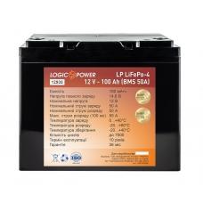Литий-железо-фосфатный аккумулятор LiFePO4 LP 100AH 12v (BMS 50A) пластик, LiFePO4 LP 100AH 12v (BMS 50A) пластик, Литий-железо-фосфатный аккумулятор LiFePO4 LP 100AH 12v (BMS 50A) пластик фото, продажа в Украине