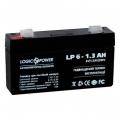 Аккумулятор LogicPower LPM 6-1.3 AH, LogicPower LPM 6-1.3 AH, Аккумулятор LogicPower LPM 6-1.3 AH фото, продажа в Украине