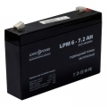 LogicPower LPM 6-7.2 AH (Аккумуляторная батарея LogicPower LPM 6-7.2 AH)