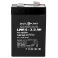 Аккумулятор LogicPower LPM-6-2.8 AH, LogicPower LPM-6-2.8 AH, Аккумулятор LogicPower LPM-6-2.8 AH фото, продажа в Украине