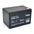 MERLION 6-DZM-12 (Тягова акумуляторна батарея MERLION 6-DZM-12, 12V 12Ah F2  Black Q4 (151х98х101мм) лепесток)