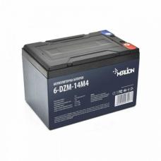Тяговая аккумуляторная батарея MERLION 6-DZM-14, 12V 14Ah M5 (151х98х104 мм), MERLION 6-DZM-14, Тяговая аккумуляторная батарея MERLION 6-DZM-14, 12V 14Ah M5 (151х98х104 мм) фото, продажа в Украине