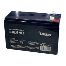 Тяговая аккумуляторная батарея MERLION 6-DZM-9, 12V 9Ah F2, (150x65x 95(100, MERLION 6-DZM-9, Тяговая аккумуляторная батарея MERLION 6-DZM-9, 12V 9Ah F2, (150x65x 95(100 фото, продажа в Украине