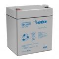 MERLION AGM GP1245F1, 12V 4.5Ah (Акумуляторна батарея MERLION AGM GP1245F1, 12V 4.5Ah)