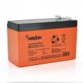 MERLION AGM GP1272F2 PREMIUM 12V 7,2Ah (Акумуляторна батарея MERLION AGM GP1272F2 PREMIUM 12V 7,2Ah (150x65x95 (100)) Orange Q10)