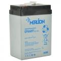 MERLION AGM GP660F1 6 V 6Ah (Акумуляторна батарея MERLION AGM GP660F1 6 V 6Ah)