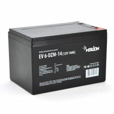 Тяговая аккумуляторная батарея MERLION EV 6-DZM-14, 12V 14Ah M5 (151*98*102), MERLION EV 6-DZM-14, Тяговая аккумуляторная батарея MERLION EV 6-DZM-14, 12V 14Ah M5 (151*98*102) фото, продажа в Украине