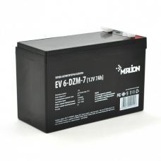 Тяговая аккумуляторная батарея MERLION EV 6-DZM-7,12V 7Ah F2 (151*65*93), MERLION EV 6-DZM-7, Тяговая аккумуляторная батарея MERLION EV 6-DZM-7,12V 7Ah F2 (151*65*93) фото, продажа в Украине