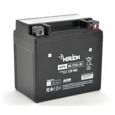 Аккумуляторная батарея MERLION MC-YTX5L-BS 12V 5.0Ah (114*70*109), MERLION MC-YTX5L-BS, Аккумуляторная батарея MERLION MC-YTX5L-BS 12V 5.0Ah (114*70*109) фото, продажа в Украине