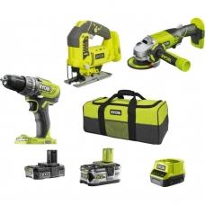 Набор инструментов Ryobi R18CK3C-252S 5133003598, Ryobi R18CK3C-252S 5133003598, Набор инструментов Ryobi R18CK3C-252S 5133003598 фото, продажа в Украине