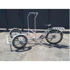 Трехколесный грузовой велосипед RYMAR Кофейный, RYMAR Кофейный, Трехколесный грузовой велосипед RYMAR Кофейный фото, продажа в Украине
