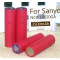 Sanyo UR18650GA (Акумулятори (Panasonic) Sanyo UR18650GA 3500mAh Japan Original )